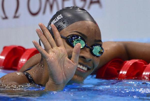 Bahamians swim champion Ariana Vanderpool Wallace