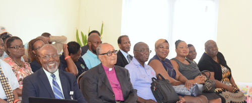 Locals from the public and private sectors gathered at Daniel's Dream Centre in Nicholl's Town, Andros, to participate in the 4th Annual Andros Business Outlook seminar. The event was held on Thursday, July 23. (BIS Photo/Peter Ramsay)