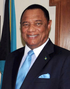 The Rt. Hon. Perry G. Christie, Prime Minister of the Commonwealth of The Bahamas (BIS Photo)