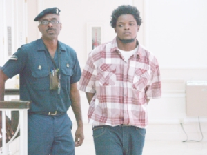 GUILTY: The murder trial in the Supreme Court for Yvener Philome, 23, concluded yesterday, when he was found guilty, 12-0, of the March 31, 2014 shooting death of Leonardo 'Yellow' Pierre.
