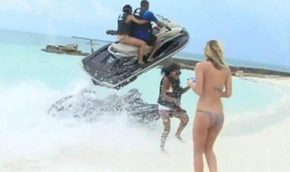Live footage of another Jet Ski accident in the Bahamas. File Photo