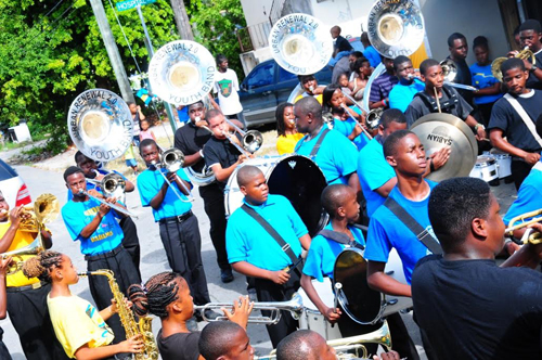 The Urban Renewal Marching Band's primary purpose is crime prevention. The instructors are committed to achieving the objectives by instilling discipline, motivating members to pursue academic excellence and teaching music, conflict resolution, respect for authority and property, community service, effective communication, and leadership skills. BTC has been a consistent supporter and contributor of the Urban Renewal Band