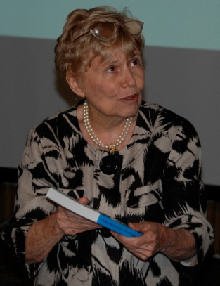 The late Joan Thompson