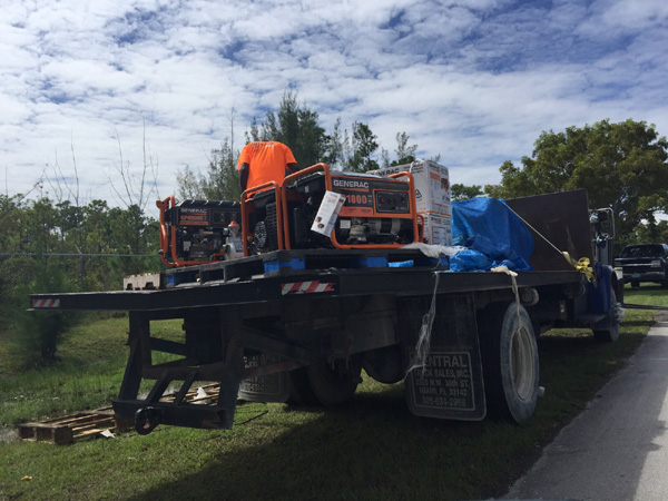 Equipment being moved into the islands by BTC as we speak! REAL LEADERSHIP AND SERVICE TO THE BAHAMIANS SHOWN HERE!