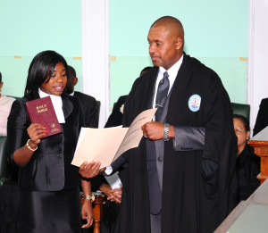 Christina Epiphany Davis is called to The Bahamas Bar.