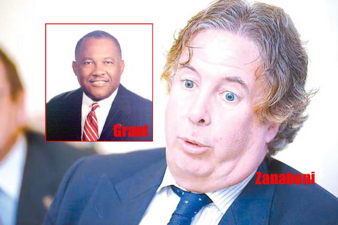 MP for Central Grand Bahama Neko Grant and Dr. Fabrizio Zanaboni