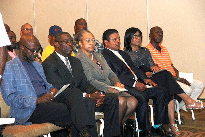 Regatta Conclave participants. (BIS Photos/Raymond A. Bethel, Sr.)