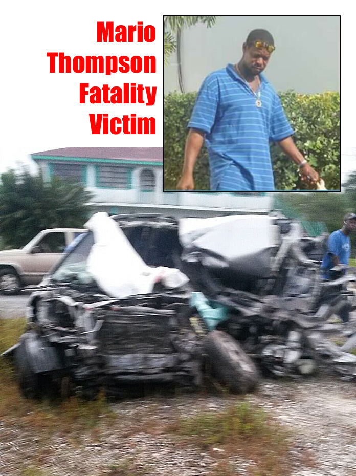 Gregory Town resident Mario Thompson is the country's latest fatality victim which occurred in Lower Bougue this morning.