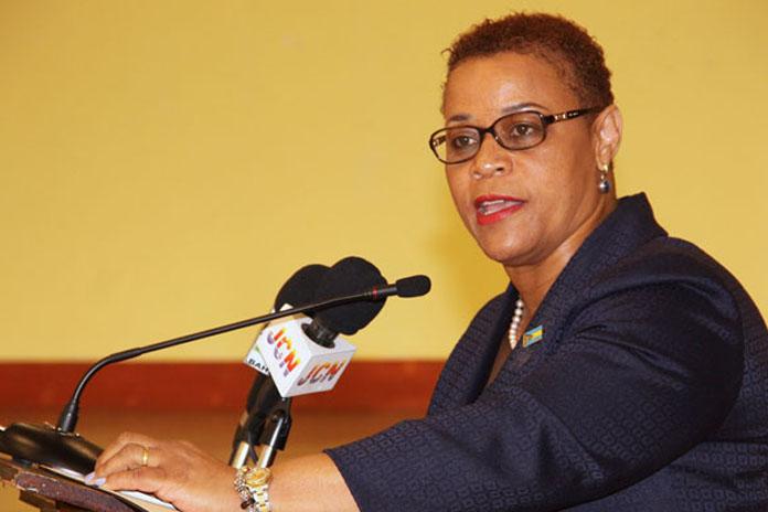 Minister Hope Strachan