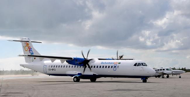 $22.7 Million ATR aircraft arrives at Bahamasair.