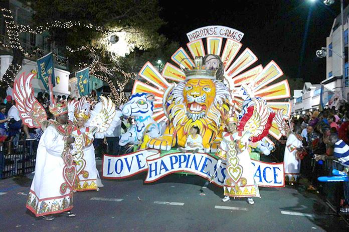 The Valley Boys entering the parade (Photo: Valley Boys facebook page)