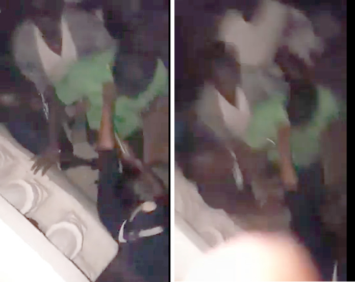 Live cam video of that shooting in Westridge early this morning at the Supervalue Party. A young girl kills Elvis Cartwright.