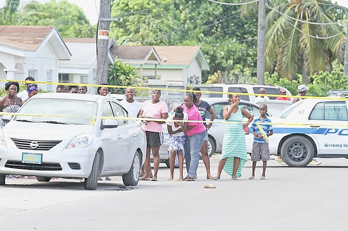This is a file photo from a past shooting incident in Nassau Village and is not he incident today on Miami Street - By tribune242.com