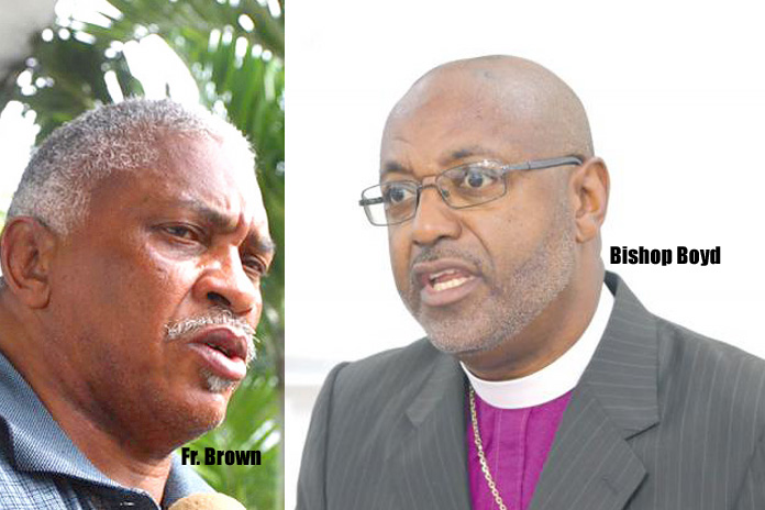 Bishop of the Bahamas Rt. Rev'd Laish Zane Boyd explains why Fr. Brown was removed as an Archdeacon!