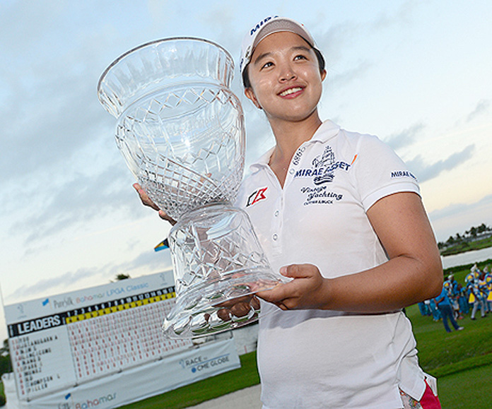 LPGA Pure Silk Tournament Champion Sei Young Kim will be among the 120 players at the tournament at Ocean Club Paradise Island Golf Course on January 25-31. (LPGA Photo)