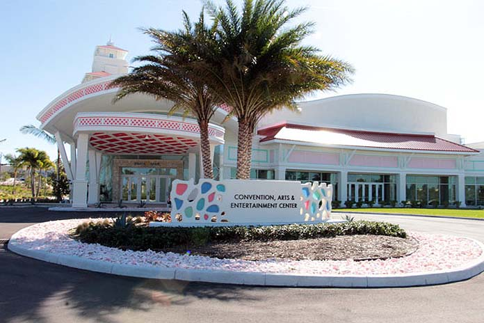 The Baha Mar Convention Center in The Bahamas will be the site for meetings, seminars and plenary sessions for the upcoming IDB-IIC Meetings. (Photo: Eric Rose/BIS)