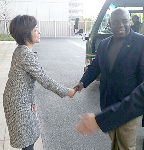 DPM Davis arrives in Japan for an Official Visit.