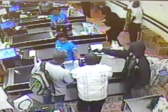 Live cam shots from that Supervalue robbery last night.