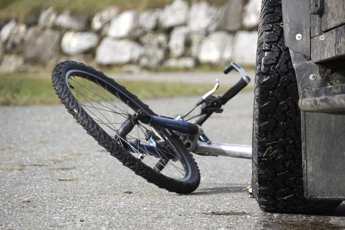 Bicycle accident - file photo
