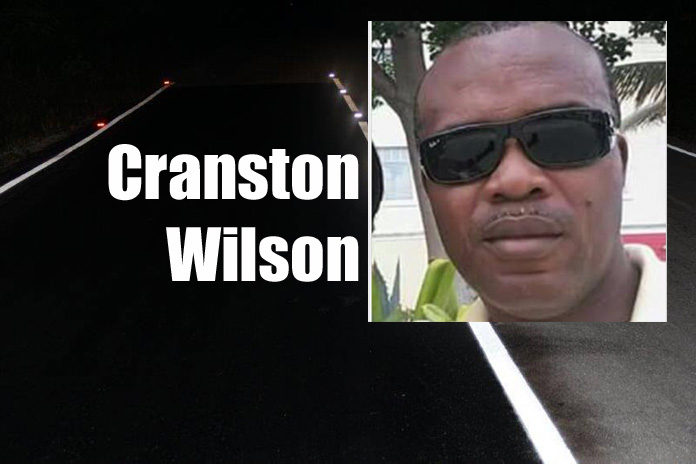 Gregory Town resident, Cranston Wilson, is Eleuthera's morning traffic fatality victim.