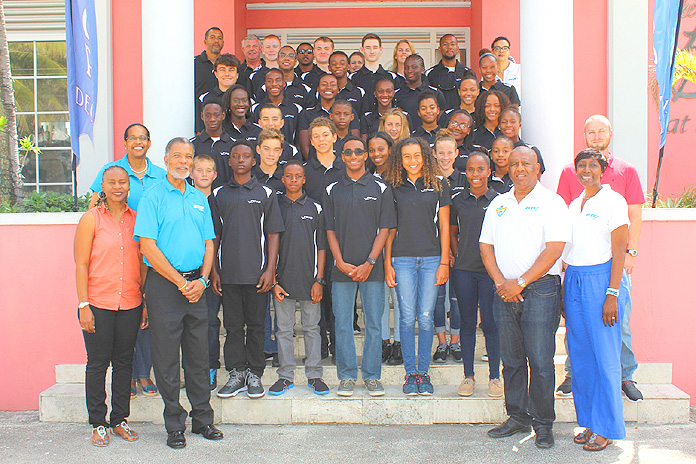 Bahamas Telecommunications Company (BTC) CEO urged the youngsters to 'make us proud.'