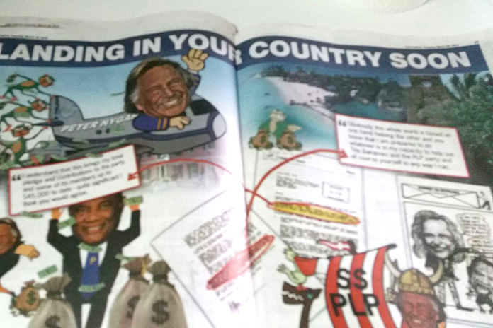 Save da Bays weekly publication to on PM published in the Punch this morning.