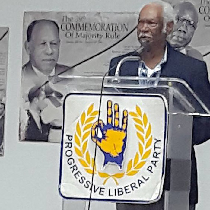 Sir Lynden's Kitchen Cabinet Member and Distinguished PLP Council Member Mr. Fernley Palmer JP encourage Bahamians to VOTE NO!