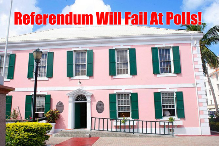 PLP could end up with no seat in New Providence after Referendum defeat!