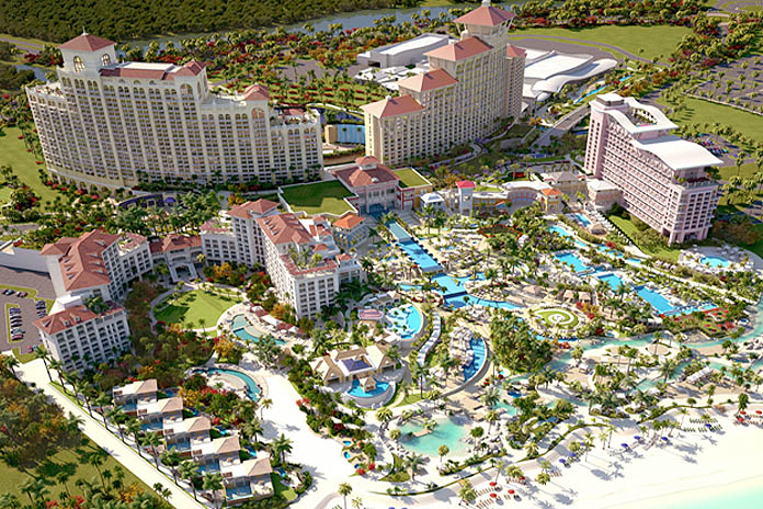 Mega Resort set to open and all the contractors will be paid.