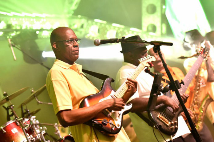 Talented Bahamian musicians display our gifts to the world at IDB. TEAM BAHAMAS!