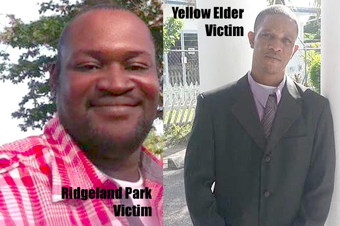 Two victims in over night murders.