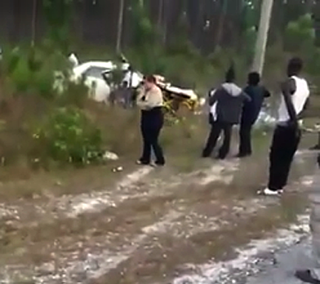 Bad accident in Abaco near Spring City has left two men dead.