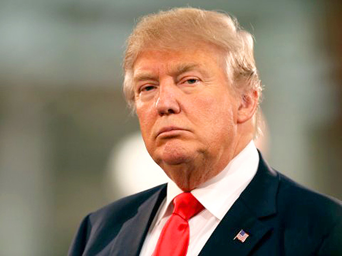 US Presidential Republican frontrunner Donald Trump.