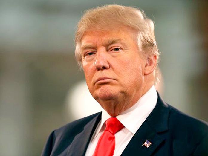 US Presidential Republican frontrunner Donald Trump.