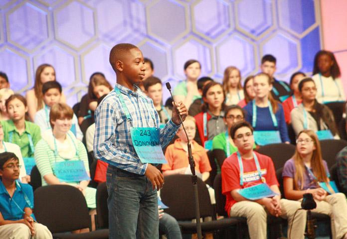 Bahamas National Spelling Bee champion Donovan Aaron Butler.