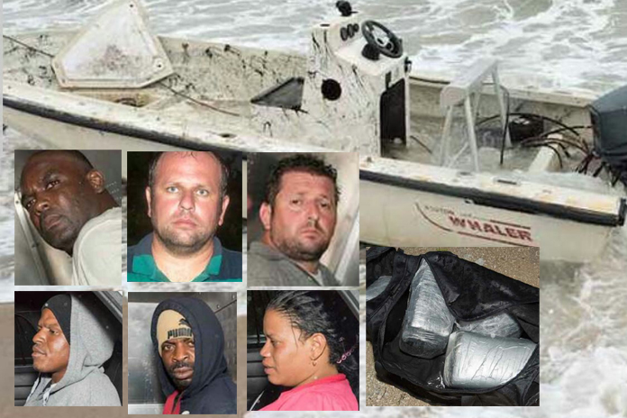 Those captured along with two Bahamians in Florida smuggling drugs and illegals.