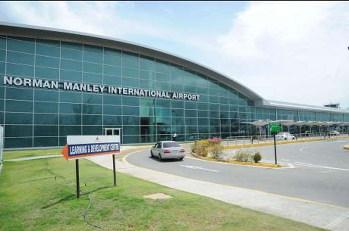 South Beach man tried to bring drugs back to the Bahamas through Jamaican airport.