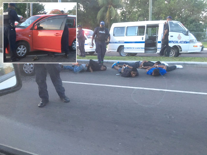 Police stopped robbers following gun-battle with authorities in Marathon...