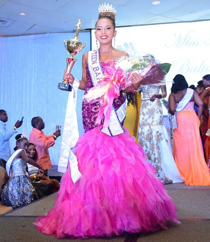 2016 Miss Teen Bahamas International, Ariannah Wells-Bain