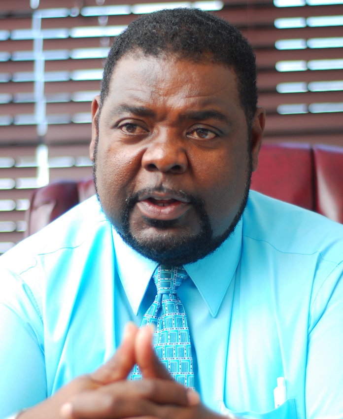 BPSU President John Pinder.