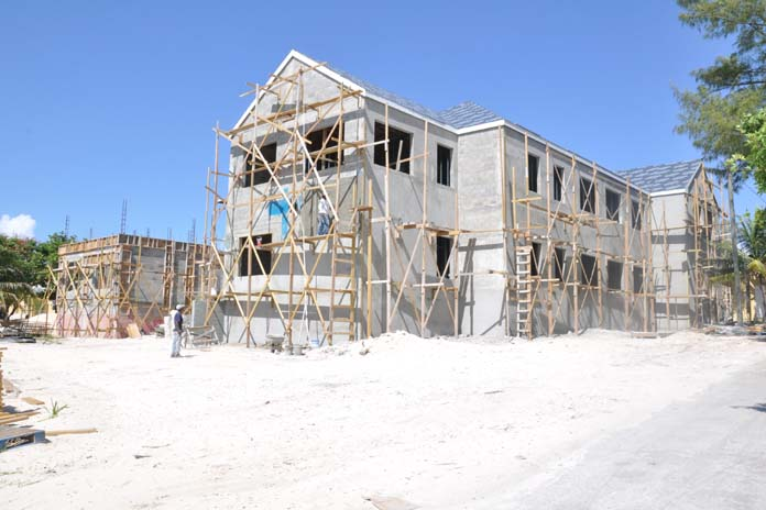 Government Complex now under construction on Bimini.