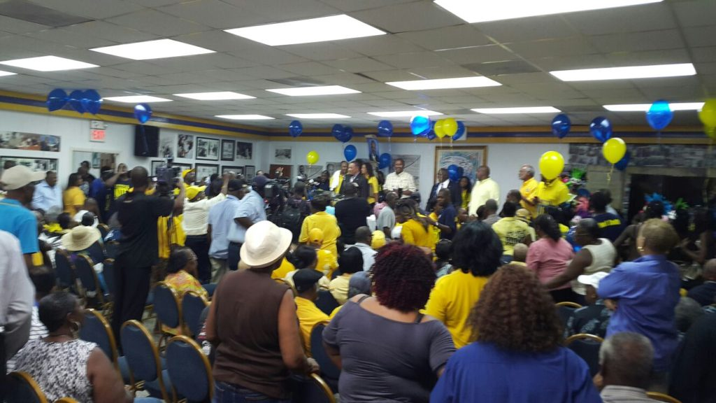 PLP last night at Party Headquarters.