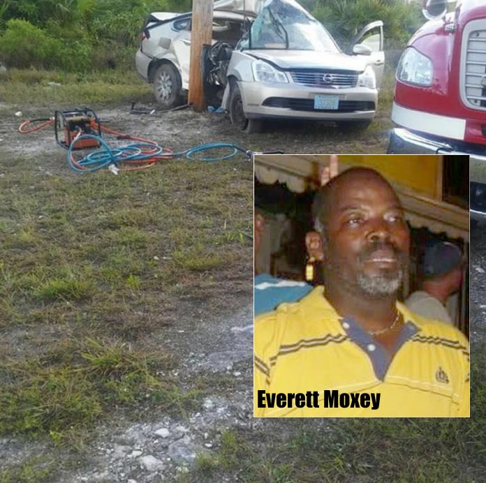 Traffic Fatality on Grand Bahama this morning...