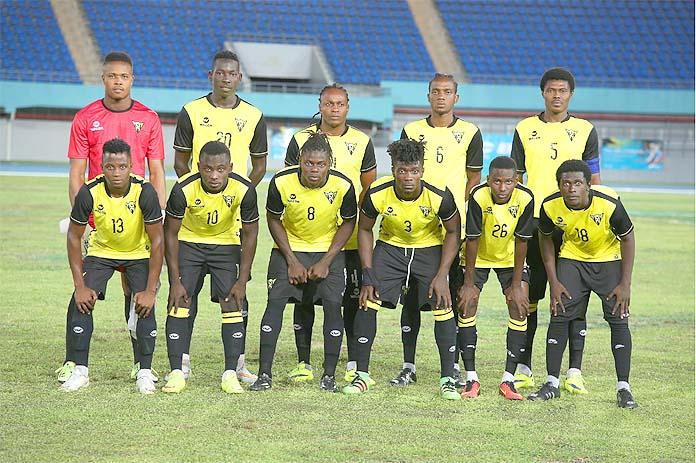 "Haiti's winning ""Don Bosco De Petition-Ville"" team"