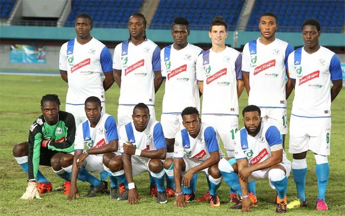 "Jamaica's ""Montego Bay United"" team"