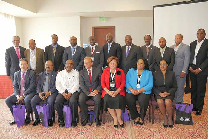 CANTO's Board of Directors. Leon Williams, CEO of BTC, also serves as Vice Chairman for CANTO. Williams is shown as the first left in the second row.