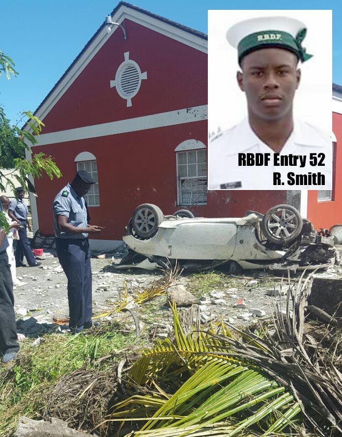 Major accident calims the life of RBDF Marine.