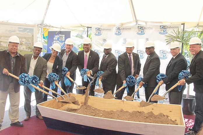 Leaders turn the earth for BTVI new Smart Classrooms,