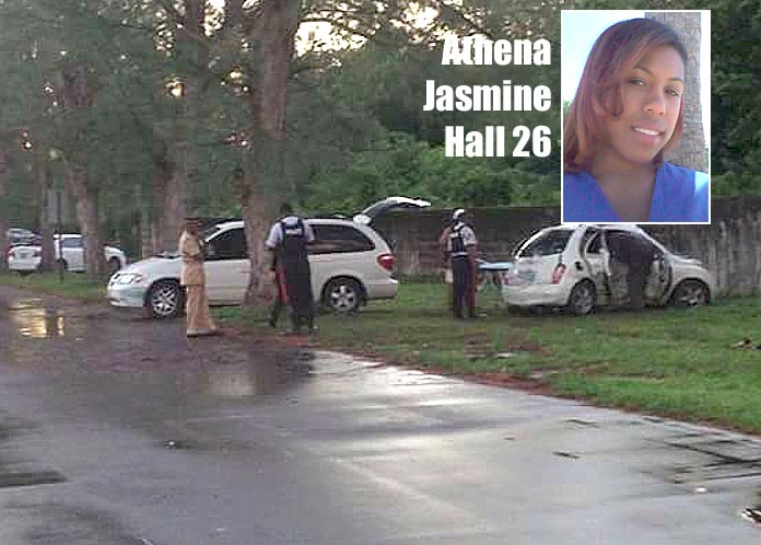 26-year-old Yamacraw resident Athena Jasmine Hall is the country's latest traffic fatality victim.