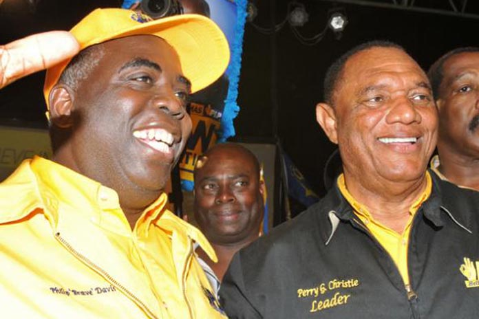 Alfred Sears warned by the CDR not to challenge! PM Christie and DPM Davis.